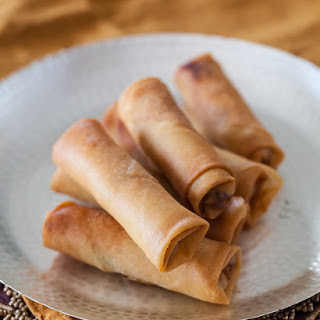 Chinese Chicken Spring Rolls