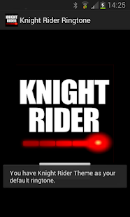 Knight Rider Ringtone - screenshot