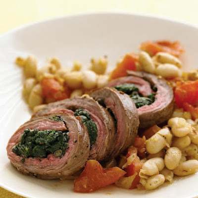 Spinach-Stuffed Flank Steak