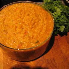 Spiced Onion Dahl