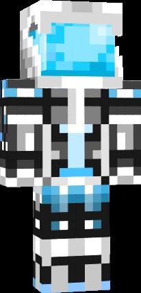 White Truemu W/ Custom Helmet