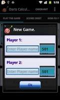 Screenshot of Darts Calculator (Ad-Free)