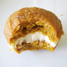Pumpkin Whoopie Pies with Maple-Cream Cheese Filling
