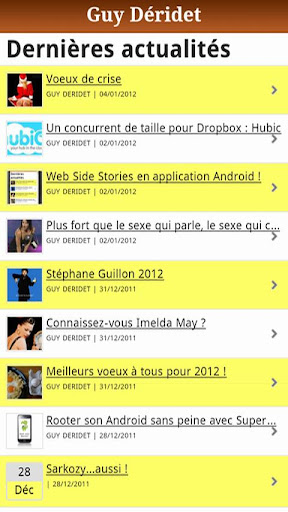 Web Side Stories
