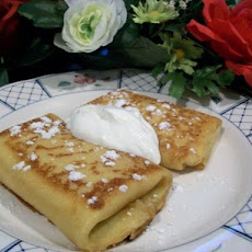 2bleu's Cheese Blintzes