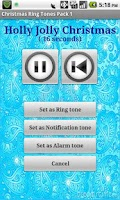 Screenshot of Super Christmas Ringtone Pack