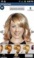 Screenshot of Hairstyle Swap LITE