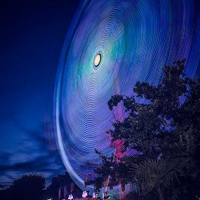 la Belle bleu by Serge Thonon - City,  Street & Park  Amusement Parks