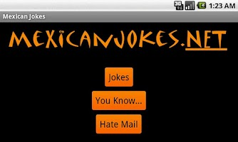 Screenshot of Funny Mexican Jokes