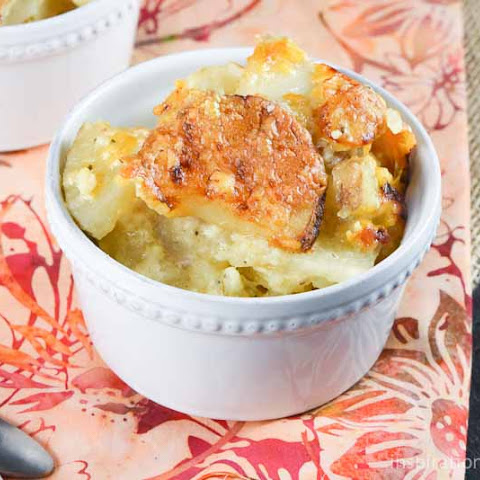 3 Cheese Scalloped Potatoes
