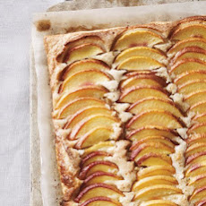 Nectarine and Hazelnut Galette