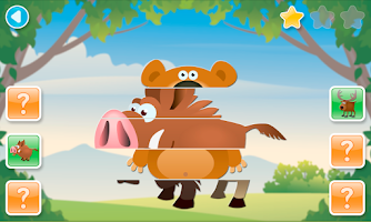 Screenshot of SCROLL PUZZLES for kids