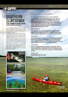 Screenshot of Kayak Angler Magazine