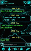 Screenshot of Blue Tech GO SMS Pro