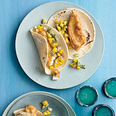 Baja Fish Tacos with Mango Salsa