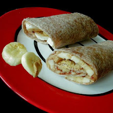 Peanut Butter & Fruit Wraps