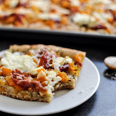 Butternut Squash, Sage Pesto and Prosciutto Pizza