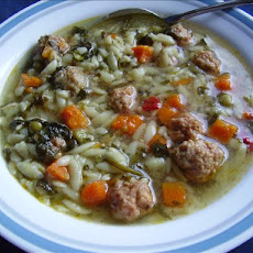 Nancy's Spinach Sausage Soup