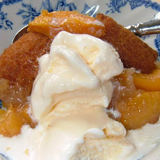 Kelly's Fresh Peach Cobbler