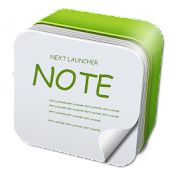 Next Launcher 3D Note Widget