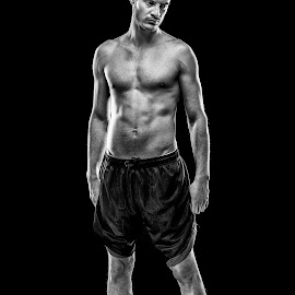 by Todor Lichev - People Portraits of Men ( body & hair, muscle, sport, mitko stavrev, people, portrait, man )