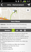 Screenshot of MyStrasbourgApp Strasbourg