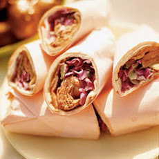Roast Beef and Blue Cheese Wraps