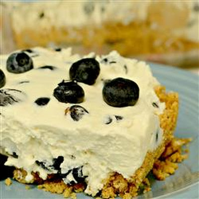 Ultimo's No-Bake Blueberry Squares