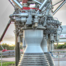 by Dipali S - Artistic Objects Industrial Objects ( engine, rocket, combustion chamber, exhaust, combustion, nozzle )