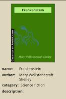Screenshot of Frankenstein