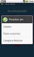 Screenshot of Brazil NeWs 4 All Pro