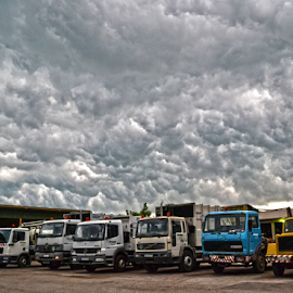 Nebo iznad nas by Mario Denić - News & Events Weather & Storms ( clouds, before, serbia, kula, storm )