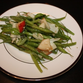 French Green Beans with Pears & Parmesan