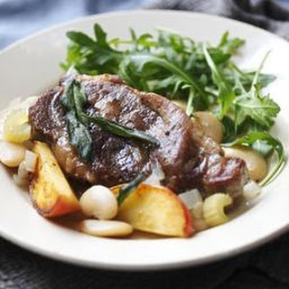 Slow Cooker Pork Shoulder With Butterbeans, Apple And Sage