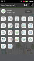 Screenshot of Line City GO Launcher Theme