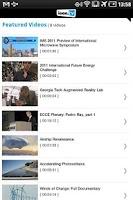 Screenshot of IEEE.tv