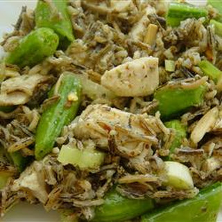 Chicken and Snap Pea Wild Rice Salad