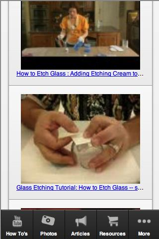 Glass Etching Guide