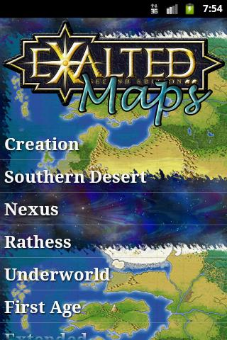 Exalted - Maps