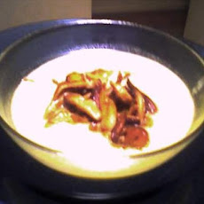 Cream of Shiitake and Corn Soup