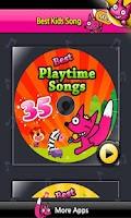 Screenshot of 35 Playtime Songs