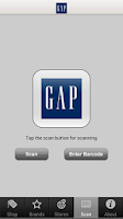 Screenshot of Gap