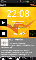 Screenshot of iWile Alarm Clock with Trance