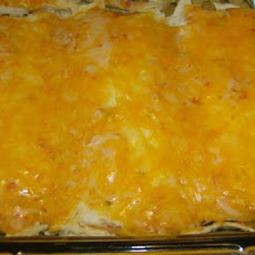Easy Cheesy Spicy Enchiladas