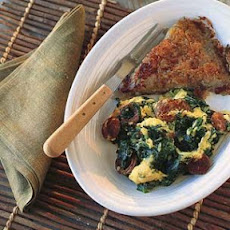 Chorizo and Spinach Scramble