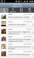 Screenshot of Ferrara Eventi
