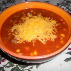 Slow Cooker Taco-Chili Soup