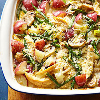 New Potato and Chicken Casserole