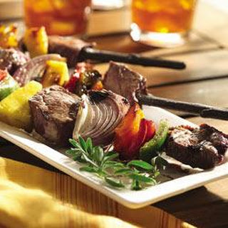 Grilled Beef and Vegetable Kabobs