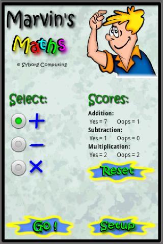 Marvins Maths Free